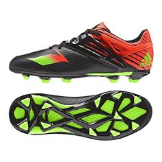lowest price ec514 06c7d  89.99   Adidas Messi 15.1 Youth FG AG Soccer Cleats (Black Solar Green  Solar Red)  FREE SHIPPING  AF4656   SOCCERCORNER.COM