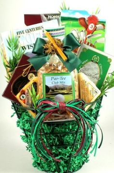 Gluten free cookie mix gift basket gluten soy corn potato free golfing on the greens golf basket gift set details can be found by clicking negle Gallery