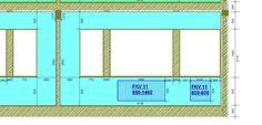 440. Гостиная - схема монтажа радиаторов по оси Е