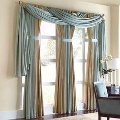 Beautiful Tall Curtains Design Ideas For Living Room 03 - Home Decor Ideas 2020 Tall Curtains, Unique Curtains, Home Curtains, Colorful Curtains, Hanging Curtains, Swag Curtains, Blinds Curtains, Drapery Panels, Valances
