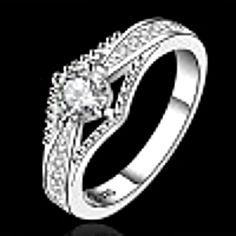 Minze 925 Silber unregelmäßigen Ring 7