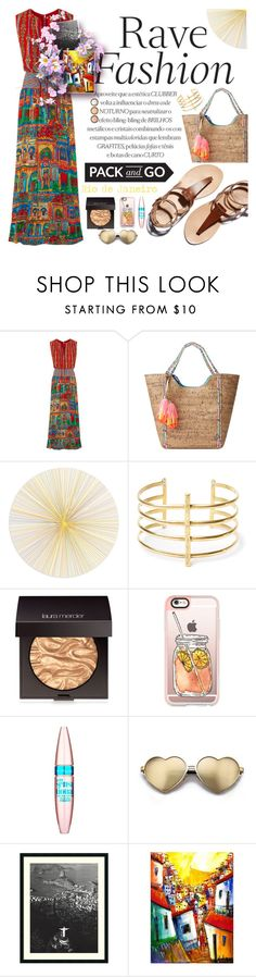 """""""Pack and Go: Cidade Maravilhosa"""" by anarita11 ❤ liked on Polyvore featuring Alice + Olivia, Lilly Pulitzer, Tisch New York, BauXo, Laura Mercier, Casetify, Maybelline, Wildfox, Amanti Art and NOVICA"""