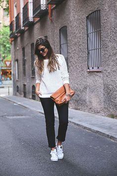 Zara Pants, Adidas Superstar