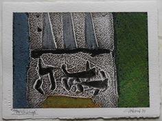 Thomas Gleghorn - 'Stonehenge - 19' - an original signed painting in mixed media