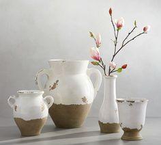 Tuscan Terra Cotta Vases