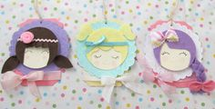 3 Handcrafted Little Ida Dolly Tags by littleidacrafts on Etsy, £5.50