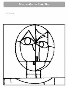 1000 images about paul klee on pinterest paul klee art for Paul klee coloring pages