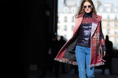 ELLE.com photographer Tyler Joe captures the chicest street style moments from Fall 2015 Paris Fashion Week: OP