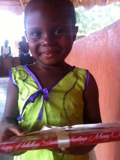 Each year Rachel Roy and her team wrap books and send them to the children of Ghana through OrphanAid Africa