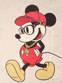 Hipster Mickey OMG THIS IS HILARIOUS!!! XD