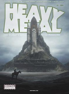 "Heavy Metal Magazine - Cover B ""White Castle"" by available for pre-order at your local comic book retailer or in our shop (link in bio) -------------------------------------------------------------- Arte Heavy Metal, Heavy Metal Comic, Metal Magazine, Magazine Art, Pulp Magazine, Magazine Covers, Industrial Bands, The Future Is Now, Horror Comics"