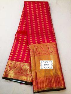 Pure silk kanjeevaram saree