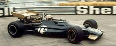 #15 George Eaton...Yardley Team BRM...BRM P153...Motor BRM P142 V12 3.0...GP Monaco 1970