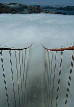 Afternoon Fog, The Golden Gate, San Francisco.