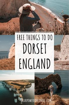 Best things to do in Dorset, England: Jurassic Coast Guide! Dorset Instagrammable photos! Best places to visit in Dorset, England! Best Dorset England cottages to stay in and cute huts in a…  More