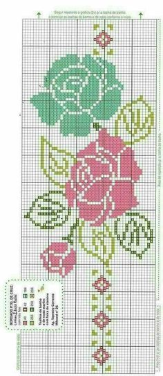 Embroidery Hungarian This Pin was discovered by Luc Cross Stitch Borders, Cross Stitch Rose, Cross Stitch Flowers, Cross Stitch Designs, Cross Stitching, Cross Stitch Patterns, Chain Stitch Embroidery, Embroidery Stitches, Embroidery Patterns