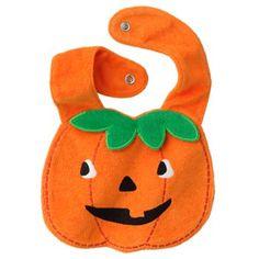 Carter's Halloween Pumpkin Bib - Baby