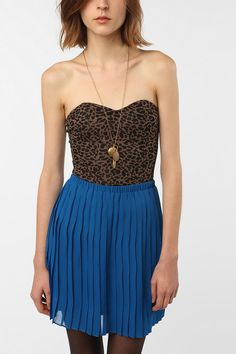 Lucca Couture Sweetheart Stretch Bustier Top  #UrbanOutfitters