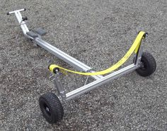 Trailex Launching Dolly - Universal Model for Boats, Sailboats, Canoes, Inflatables Canoe Camping, Canoe And Kayak, Kayak Fishing, Fishing Boats, Kayak Bike Trailer, Boat Trailer, Bike Trailers, Trailer Plans, Kayaks
