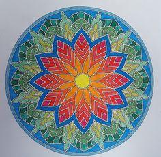 Mandala kirjasta: Väritä itsellesi mielenrauhaa Mandala, Plates, Tableware, Licence Plates, Dishes, Dinnerware, Griddles, Tablewares, Dish