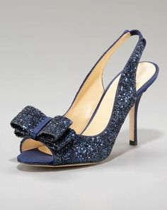 kate spade Clothing & Collection at Neiman Marcus Kate Spade Wedding Shoes, Cool Style, My Style, Diamonds And Gold, Dream Shoes, Shoe Closet, Something Blue, Pumps, Heels