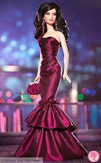 Mattel Barbie Doll  Gold Label Rhapsody in New York Barbie Exclusive
