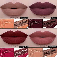 NYX Liquid Suede 4 COLORS Hey lovelies, I have 5 of each of these beautiful…