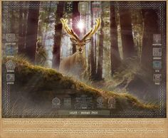 LELEŃ i Drzewo Życia. Ilustracje: Kazimierz Perkowski 2011-2012. Wszystkie zamieszczone tu ilustracje można rozpowszechniać i publikować w formie elektronicznej bez ograniczeń z wyjątkiem użytku komercyjnego. Strona źródłowa :  http://www.bogowiepolscy.net/galeria.html
