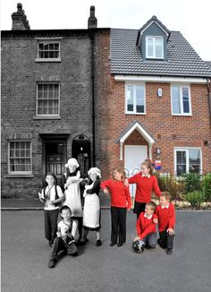 Look at how homes and communities have changed in the past 100 years. The project includes a local history study, a comparison of Victorian homes and lifestyles with modern day and an insight into the period's inventions. Primary Teaching, Primary Education, Primary School, Kids Education, History Activities, Teaching History, Teaching Resources, Teaching Ideas, Victorian History