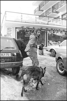 Princess Caroline of Monaco walks her dog in the streets of Courchevel. Get premium, high resolution news photos at Getty Images Philippe Junot, Princess Grace Kelly, Monaco Royal Family, Monster Trucks, Dogs, Walks, Royals, Charlotte, Heart