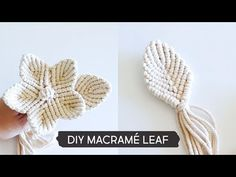 Newest Pic Macrame leaf Style If you have identified the new macramé collection and you are connected on this timeless write, you Macrame Wall Hanging Diy, Macrame Plant Hangers, Macrame Cord, Macrame Knots, Macrame Curtain, Cordon Macramé, Art Macramé, Micro Macramé, Macrame Design