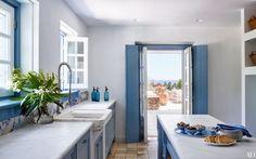 Blue And White Villas On A Greek Island - Gravity