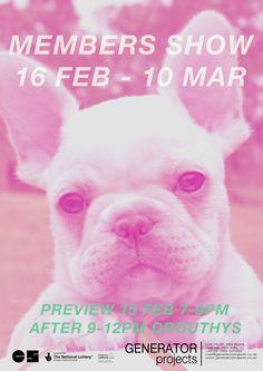 DUNDEE: Generator - Members Show 16 Feb - 10 Mar www.generatorprojects.co.uk