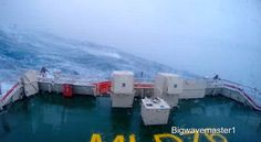 Video: 2.5 Hours of a Ship in Heavy Seas