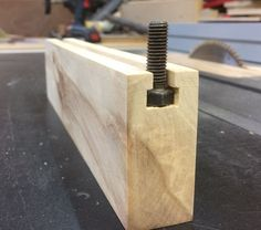 Simple T Track for Woodwork Jigs #woodworkingtips #woodworkingplans #woodworkingtools