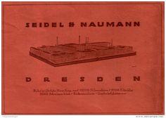 Original-Werbung/Anzeige 1916 - SCHREIBMASCHINEN/ NÄHMASCHINEN/ FAHRRÄDER SEIDEL & NAUMANN DRESDEN - ca. 180 x 120  mm