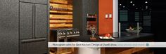 Monogram wins for Best Kitcen Design at Dwell show. View photos and more! Professional Kitchen, View Photos, Kitchen Appliances, Monogram, Design, Diy Kitchen Appliances, Home Appliances, Monograms