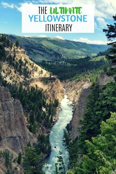 The ultimate Yellowstone National Park vacation itinerary: where to stay, what to do and tips for your visit. : The ultimate Yellowstone National Park vacation itinerary: where to stay, what to do and tips for your visit. Yellowstone Nationalpark, Visit Yellowstone, Yellowstone Vacation, Yellowstone Park, Wyoming Vacation, Us National Parks, Grand Teton National Park, Travel Usa, Travel Tips