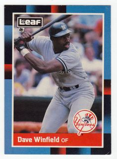 Dave Winfield # 116 - 1988 Leaf Baseball
