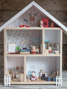 Clever Hiinst Kids Girls Mini Dolls Houses Cute Lovely Furniture Bed Set Decoration Pretend Play Toy Miniature Living Room Doll Houses Delicacies Loved By All Toys & Hobbies