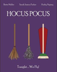 I got bored today so I decided to make a Minimalist Movie Poster for Hocus Pocus! I hope you all enjoy and Happy Halloween!from another pinner Best Halloween Movies, Halloween Quotes, Halloween Signs, Halloween Horror, Halloween Crafts, Halloween Decorations, Disneyland Halloween, Halloween Poster, Halloween Stuff
