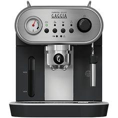 Buy Gaggia RI8525/08 Carezza Deluxe Manual Espresso Machine, Black Online at johnlewis.com