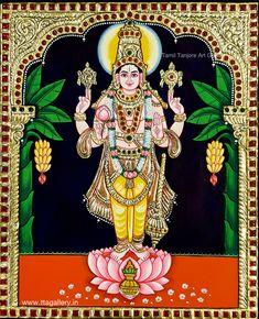 Original hand made tanjore paintings Kerala Mural Painting, Tanjore Painting, Indian Art Paintings, Contemporary Decorative Art, Lord Hanuman Wallpapers, Buddha Art, Art N Craft, God Pictures, Hindu Art