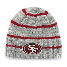 los angeles 96665 1e8a2 San Francisco 49Ers Mcmahon Beanie Gray 47 Brand Hat