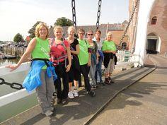 Wandeltocht volbracht van Goes naar Zierikzee met collega's van Allevo.