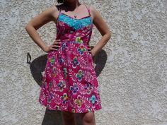 Centaurée en batik by Madame Créative | Project | Sewing / Dresses | Women's | Kollabora