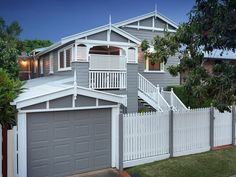 Houses for Sale in Brisbane - Greater Region, QLD Pg. Queenslander House, Looking For Houses, Residential Land, Property Investor, House Paint Exterior, Decks And Porches, Australian Homes, Next At Home, House Prices