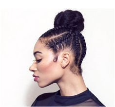 Cute Simple Updo @freshlengths - http://community.blackhairinformation.com/hairstyle-gallery/updos/cute-simple-updo-freshlengths/
