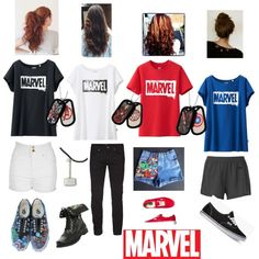 Marvel fangirl 2 :) tell me your thoughts :) oh and all the shorts are a proper length