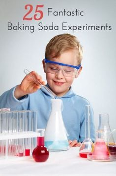 25 Fantastic, creative and fun baking soda experiments for kids.